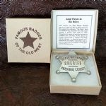 John Wayne in Rio Bravo - Sheriff Presidio County, TX Badge